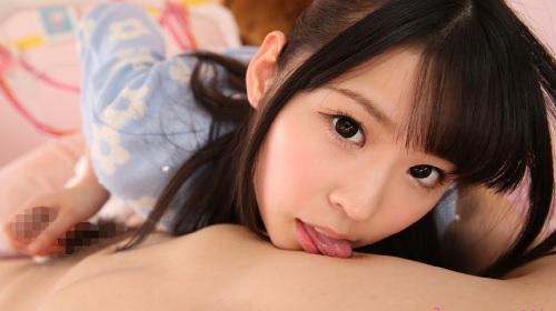 さくらゆら 清純系美少女のフェラ・手コキ
