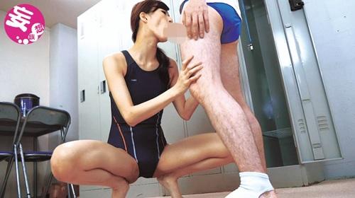 神波多一花 競泳水着を着た淫乱お姉さんと中出しセックス