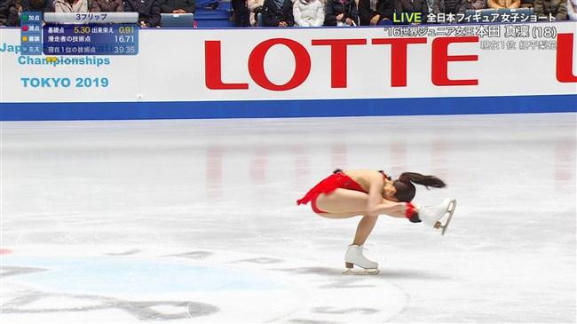 本田真凜~全日本フィギュアスケートでエロカワ過ぎ!記録よりも美しさですよ!0014shikogin