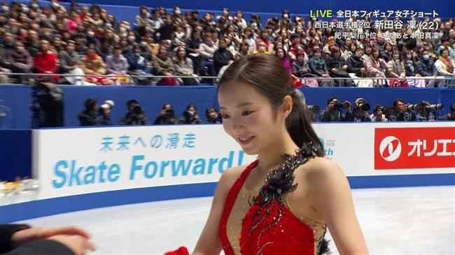 本田真凜~全日本フィギュアスケートでエロカワ過ぎ!記録よりも美しさですよ!0002shikogin