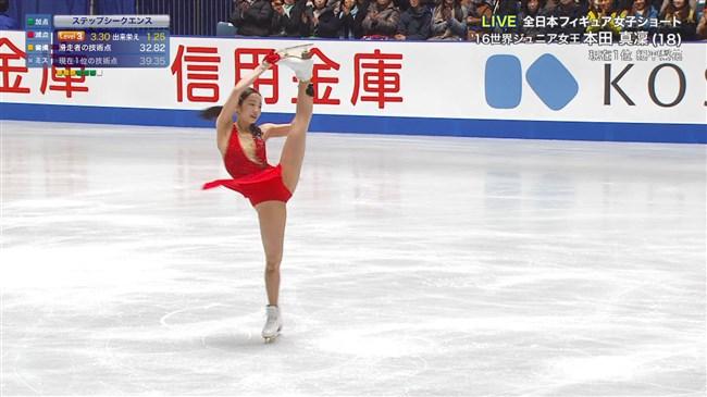 本田真凜~全日本フィギュアスケートでエロカワ過ぎ!記録よりも美しさですよ!0005shikogin