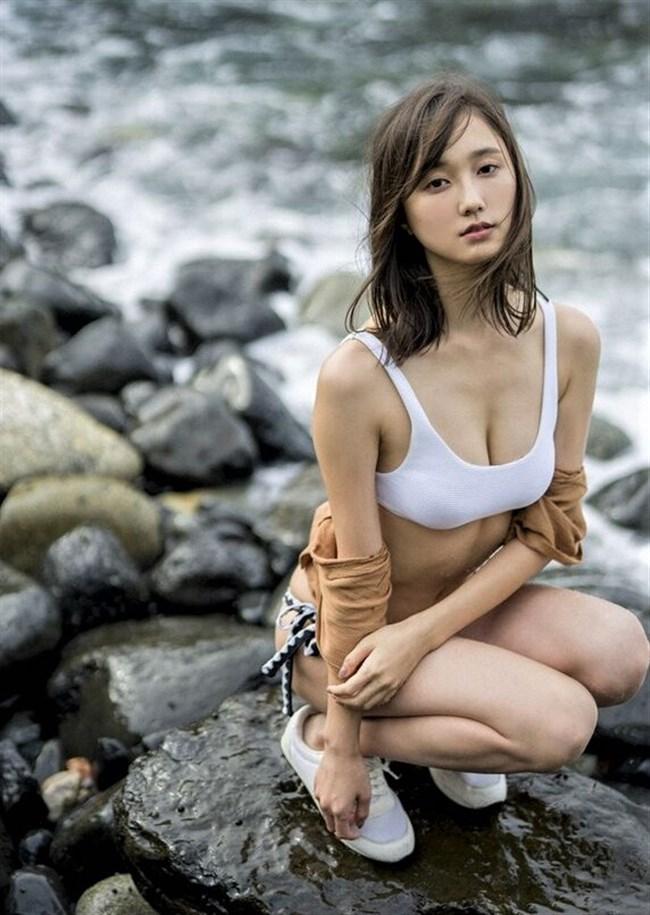 鈴木友菜~現役ノンノ専属モデルの水着グラビアを集約!エロボディー過ぎる!0010shikogin