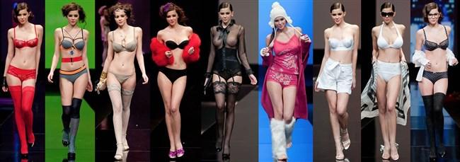 すっけすけ衣装で乳首が丸見えなのに平気でランウェイを歩くモデルのお姉さんwwww0018shikogin