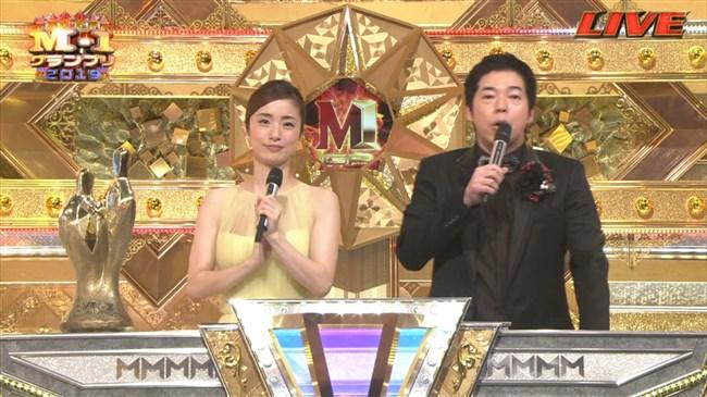 上戸彩~M-1グランプリ2019司会での透けレースの衣装はエロ過ぎて超興奮した!0002shikogin
