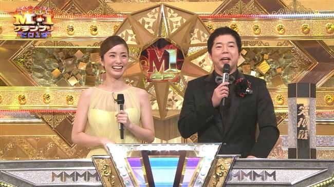上戸彩~M-1グランプリ2019司会での透けレースの衣装はエロ過ぎて超興奮した!0003shikogin