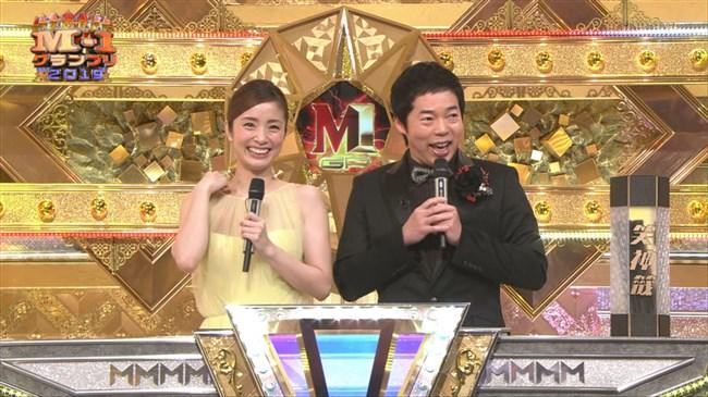 上戸彩~M-1グランプリ2019司会での透けレースの衣装はエロ過ぎて超興奮した!0004shikogin