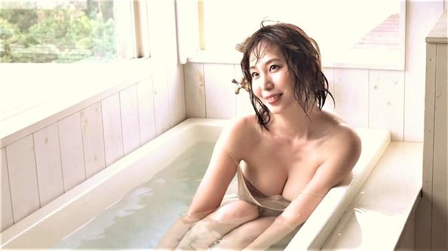 塩地美澄~突き出しポーズと生ブラの入浴が見れる新作イメージDVD先行画像!0011shikogin