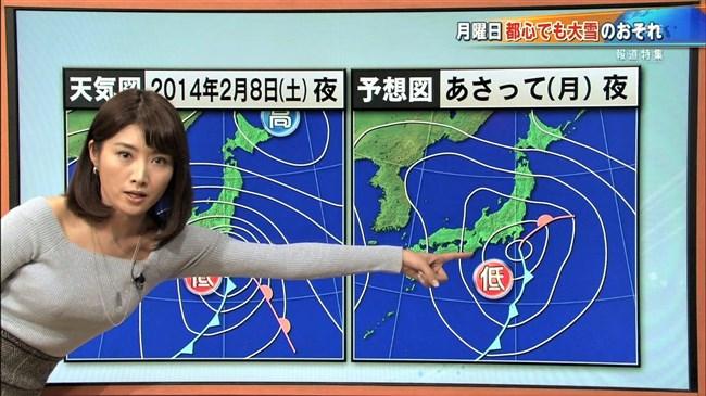 久保井朝美~最近のTBSひるおび!でニット服率が高くなった巨乳気象予報士!0004shikogin