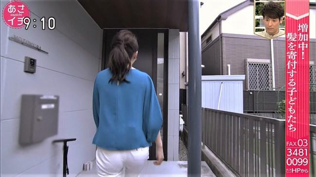 橋本奈穂子~あさイチでのタイトスカート姿と白ピタパンのヒップがエロ過ぎ!0008shikogin