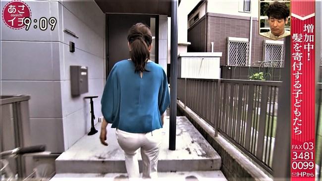 橋本奈穂子~あさイチでのタイトスカート姿と白ピタパンのヒップがエロ過ぎ!0009shikogin