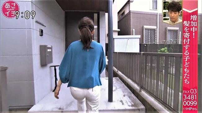 橋本奈穂子~あさイチでのタイトスカート姿と白ピタパンのヒップがエロ過ぎ!0010shikogin