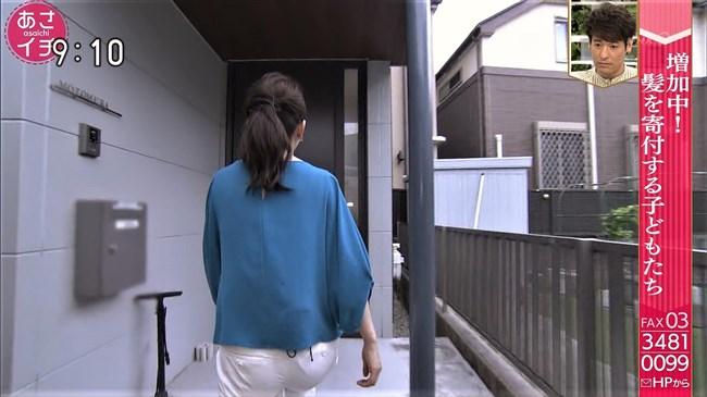 橋本奈穂子~あさイチでのタイトスカート姿と白ピタパンのヒップがエロ過ぎ!0011shikogin