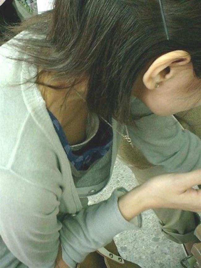 タナボタの瞬間!かがんだ女性の乳首が見えた時の幸福感wwww0011shikogin