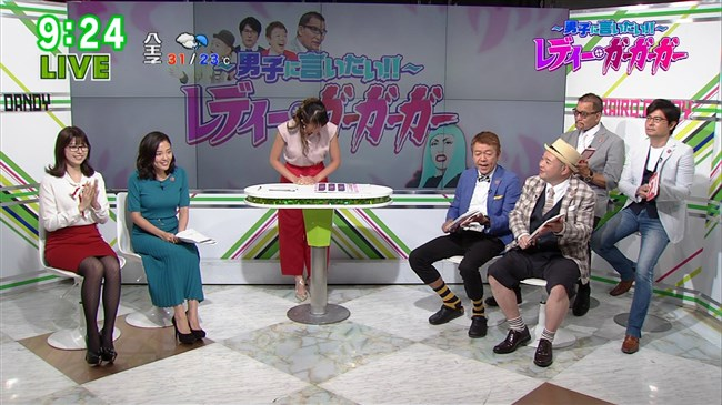 阿部優貴子~東京MXテレビでの巨乳強調ワンピ姿がエロカワで最高!0010shikogin