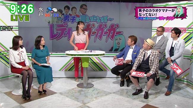 阿部優貴子~東京MXテレビでの巨乳強調ワンピ姿がエロカワで最高!0013shikogin