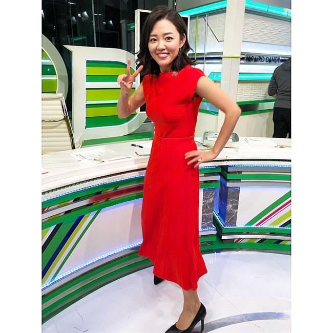 阿部優貴子~東京MXテレビでの巨乳強調ワンピ姿がエロカワで最高!0005shikogin