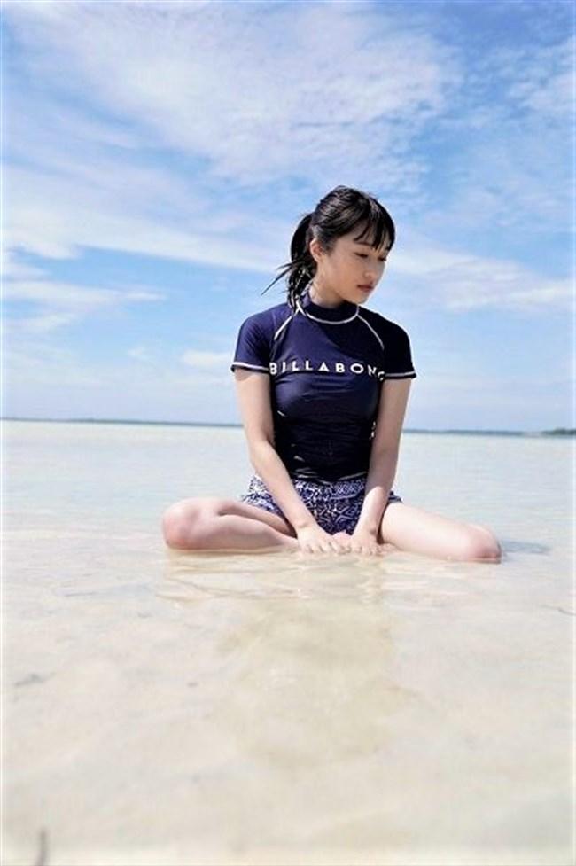 久保田未夢~1st写真集先行グラビアの水着姿が巨乳丸出しでエロ過ぎ!0004shikogin