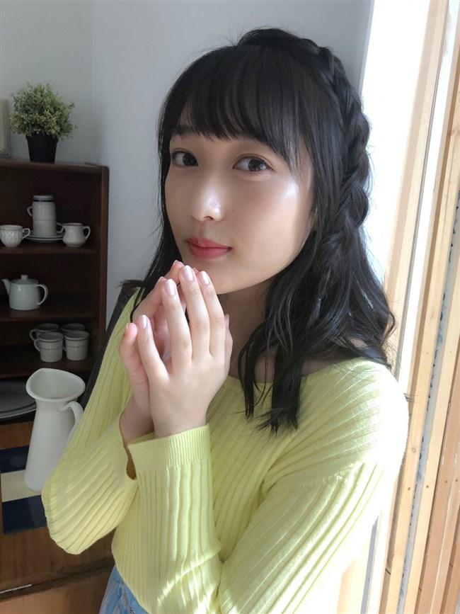 久保田未夢~1st写真集先行グラビアの水着姿が巨乳丸出しでエロ過ぎ!0011shikogin