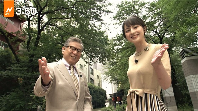 山本恵里伽~news23でのニット服で胸を強調した姿がエロ美しく過ぎる!0007shikogin