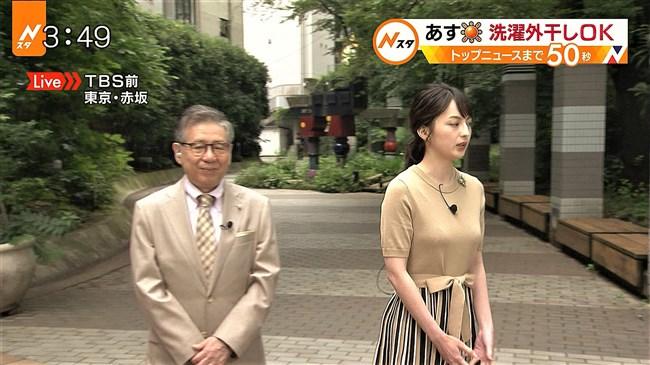 山本恵里伽~news23でのニット服で胸を強調した姿がエロ美しく過ぎる!0008shikogin