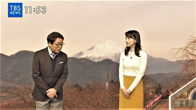 山本恵里伽~news23でのニット服で胸を強調した姿がエロ美しく過ぎる!0009shikogin