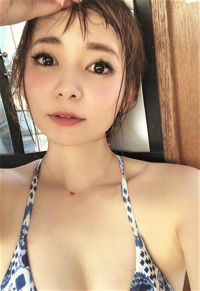中川翔子~Twitterで大人の最新水着姿を公開!目元のメイクが強過ぎだぞ!0011shikogin