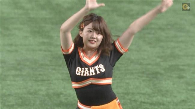 尾崎里紗~巨人公式マスコットガールでの胸チラダンスがエロカワ!0011shikogin