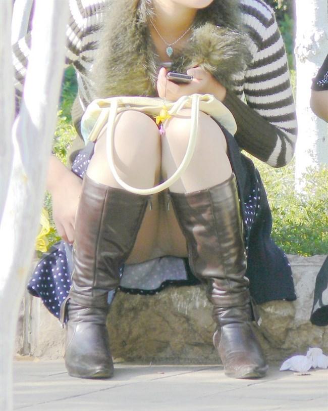 無防備なぷっくりクロッチを晒したパンチラ女の子wwwwww0007shikogin