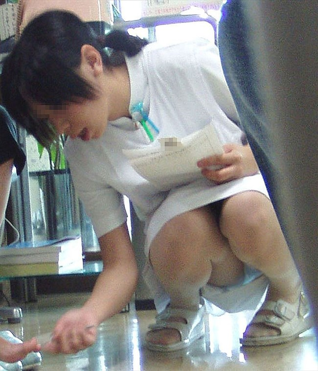 病院で働く白衣の天使のスカート内をご覧下さいwwwww0004shikogin