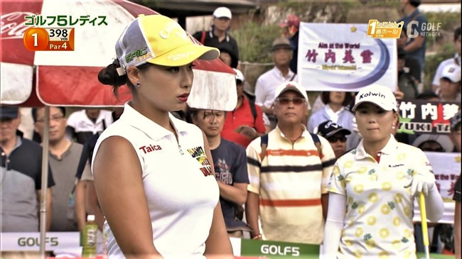 竹内美雪~日韓ハーフの超美形ゴルファー!しかも爆乳で極エロなスタイル!0011shikogin