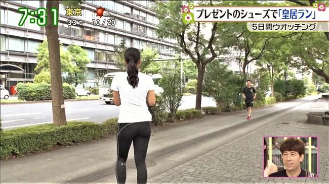 長沢美月~ズームインサタデーでのピタパン姿のムッチリヒップが極エロ!0013shikogin