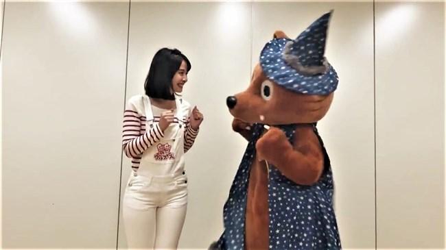 望木聡子~ウルフィダンスで白のピタパン姿がモリマンでスジっててエロ過ぎ!0013shikogin