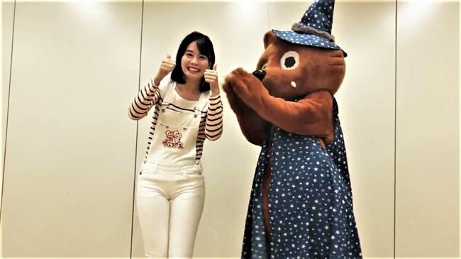 望木聡子~ウルフィダンスで白のピタパン姿がモリマンでスジっててエロ過ぎ!0017shikogin