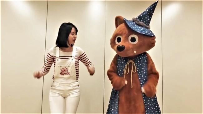 望木聡子~ウルフィダンスで白のピタパン姿がモリマンでスジっててエロ過ぎ!0020shikogin