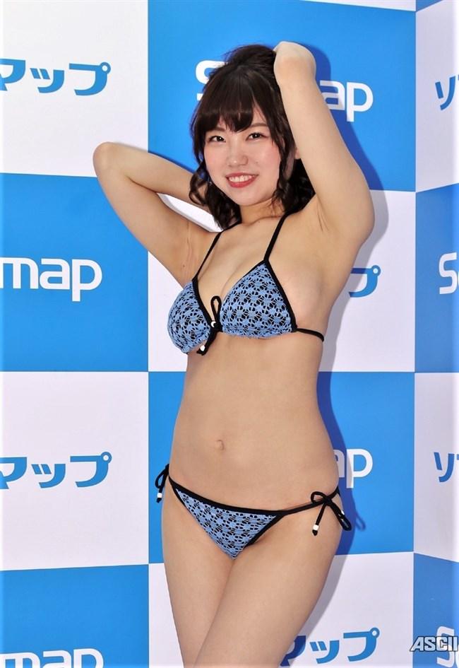 麻亜子~愛らしい顔立ちにHカップの破壊力抜群のオッパイは究極のグラドル像!0014shikogin