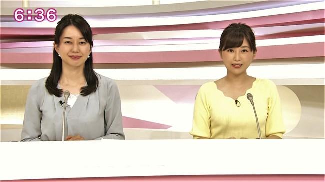垣内麻里亜~news everyでのニット服の美乳な膨らみがエロくて最高!0013shikogin
