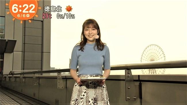 阿部華也子~温かくなってきたら薄着レポートで巨乳を猛アピールし興奮!0011shikogin