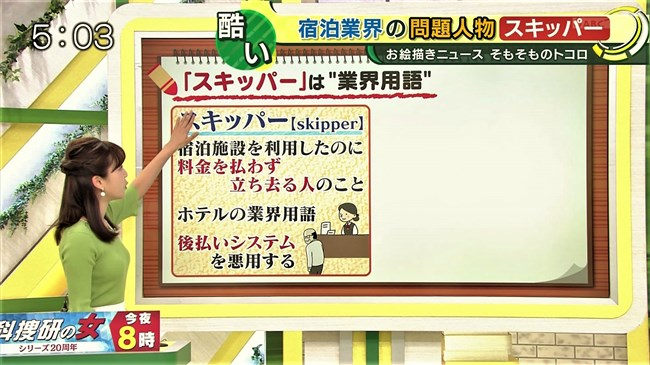 津田理帆~キャストでのニット服姿の胸元が柔らかそうで顔を埋めたい衝動に!0009shikogin