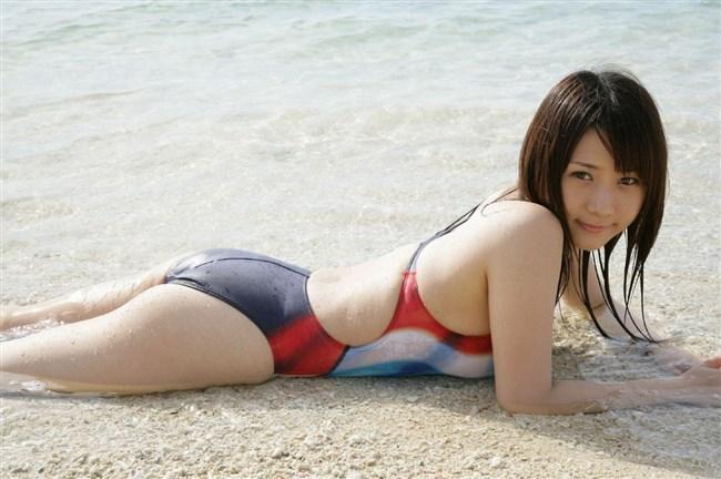 カラダのラインが浮き出る競泳水着が地味にエロいwwww0019shikogin