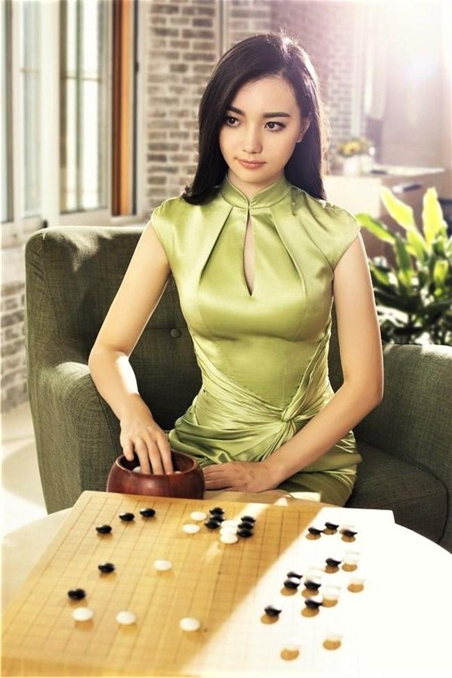 黒嘉嘉~激カワ台湾の囲碁棋士がEテレ番組出演した時が神々しいほど美しい!0008shikogin