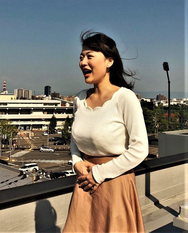 深堀遥菜~NHK新潟の契約キャスターは美人でとんでもない爆乳の持ち主だった!0009shikogin