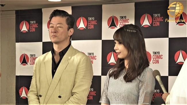宇垣美里~東京コミコン2019にてレース系シースルーのセクシーワンピで登場!0009shikogin