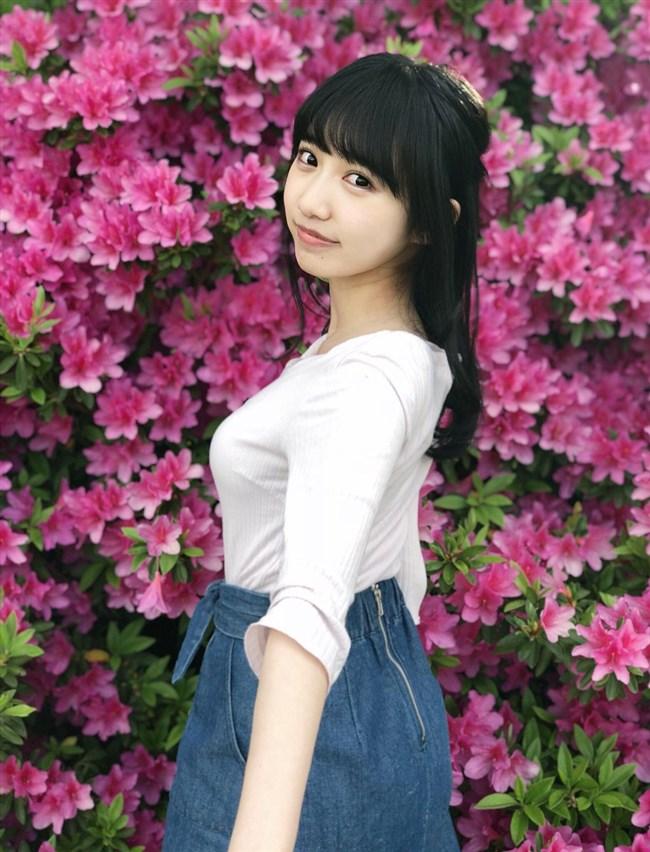 横野すみれ[NMB48]~下着のような白水着姿で巨乳を公開してから人気が急上昇!0006shikogin