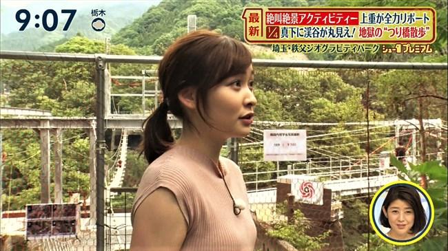 岩田絵里奈~シューイチで吊り橋を渡るロケでヒップ突き出しパン線丸見え!0010shikogin