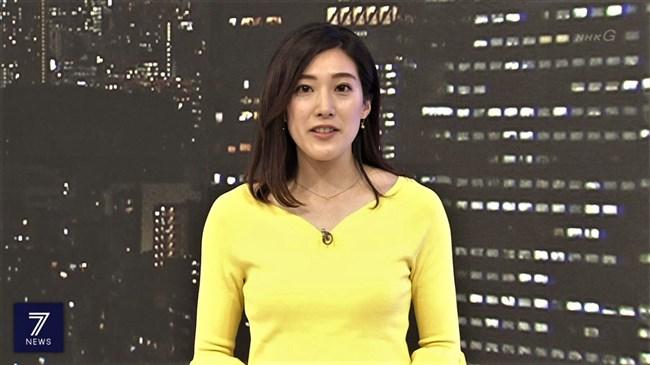 上原光紀~NHKニュース7でのムニュッとした胸の膨らみとデカ尻に超興奮!0004shikogin