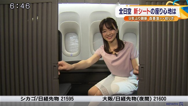 森香澄~2019年テレ東入社の激カワ女子アナが超セクシーな初レポート披露!0006shikogin