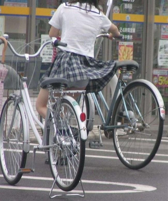 決して生足にムラムラしてはいけないJKが自転車乗る姿www0003shikogin
