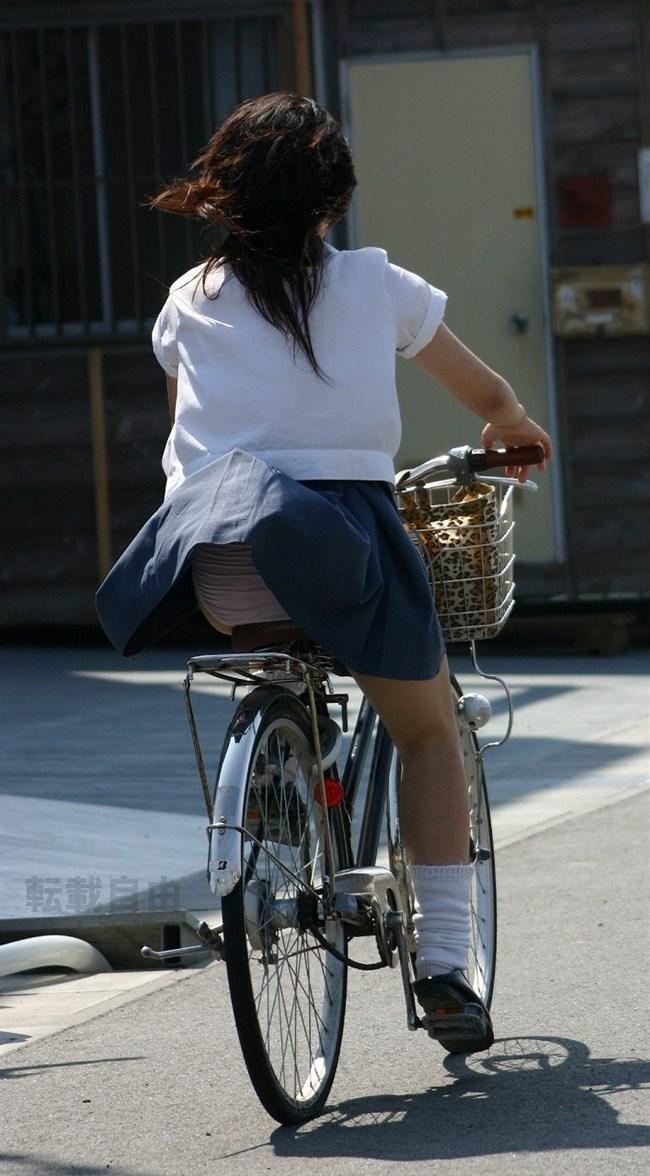決して生足にムラムラしてはいけないJKが自転車乗る姿www0007shikogin