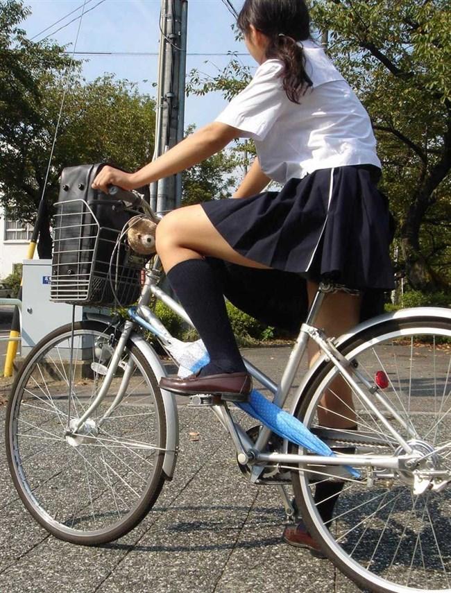 決して生足にムラムラしてはいけないJKが自転車乗る姿www0009shikogin