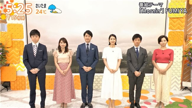 加藤シルビア~TBSの美熟女アナがノースリーブニット服で胸元を全開放!0002shikogin
